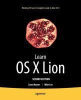 Learn OS X Lion