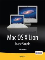 Mac OS X Lion Made Simple