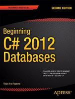 Beginning C# 5.0 Databases, Second Edition