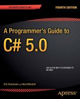 A Programmer's Guide to C# 5.0, Fourth Edition