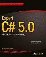 Expert C# 5.0 With .NET 4.5 Framework