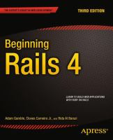 Beginning Rails 4, Third Edition