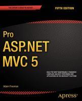 Pro ASP.NET MVC 5, Fifth Edition