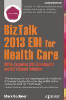 BizTalk 2013 EDI for Health Care