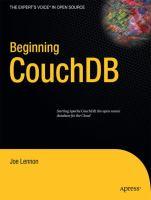 Beginning CouchDB