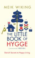 LITTLE BOOK OF HYGGE [large Print]