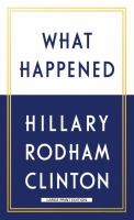 What Happened (Large Print)