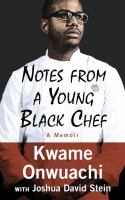 Media Cover for Notes from a Young Black Chef