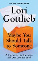 Media Cover for Maybe You Should Talk to Someone