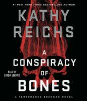A conspiracy of bones [large print]