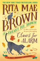 Claws For Alarm ( Mrs. Murphy Mystery ) - Large Print