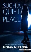 Such A Quiet Place [Large Print]
