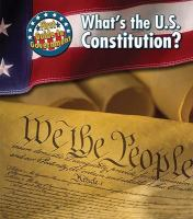 What's the U.S. Constitution?