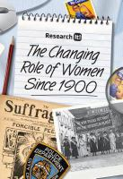 The Changing Role of Women Since 1900