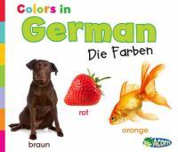 Colors in German