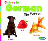 Colors in German