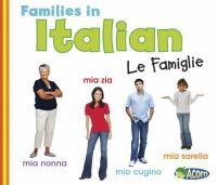 Families in Italian
