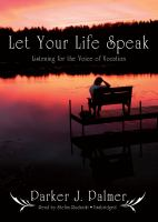 Let your Life Speak