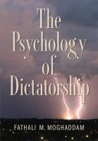 The Psychology of Dictatorship
