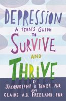 Cover of Depression: A Teens Guide