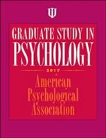 Graduate Study in Psychology, 2017