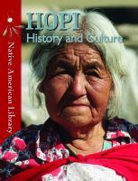 Hopi History and Culture