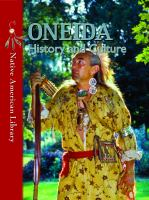 Oneida History and Culture