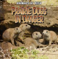 Prairie Dogs in Danger