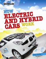 How Electric and Hybrid Cars Work