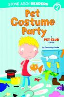 Pet Costume Party