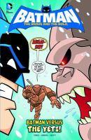 Batman Versus the Yeti!