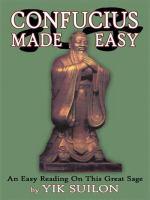 Confucius Made Easy