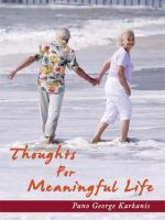 Thoughts for A Meaningful Life
