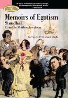 Memoirs of Egotism