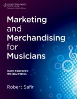 Marketing and Merchandising for Musicians