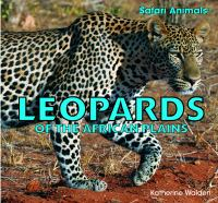 Leopards of the African Plains