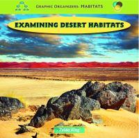 Examining Desert Habitats