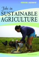 Jobs in Sustainable Agriculture