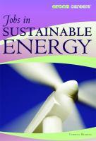 Jobs in Sustainable Energy