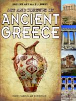 Art and Culture of Ancient Greece