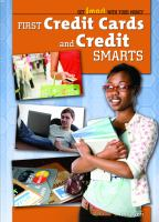 First Credit Cards and Credit Smarts
