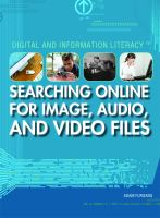 Searching Online for Image, Audio, and Video Files