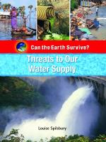 Threats to Our Water Supply