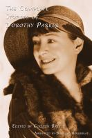 The Complete Stories of Dorothy Parker