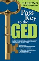 Barron's Pass Key To The GED