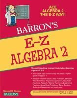 Barron's E-Z Algebra 2