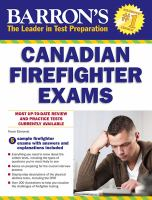 Canadian Firefighter Exams
