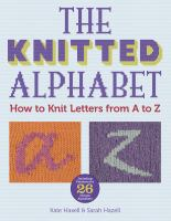 The Knitted Alphabet