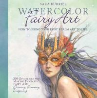 Watercolor Fairy Art