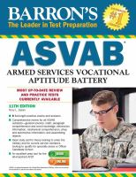Barron's ASVAB, Armed Services Vocational Aptitude Battery